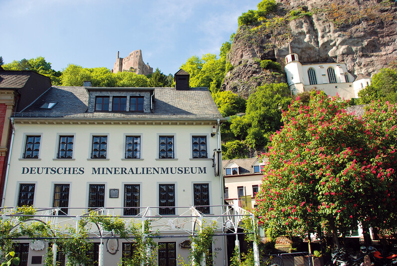sehenswert museen ausstellungen deutsches mineralienmuseum idar oberstein highlights in. Black Bedroom Furniture Sets. Home Design Ideas