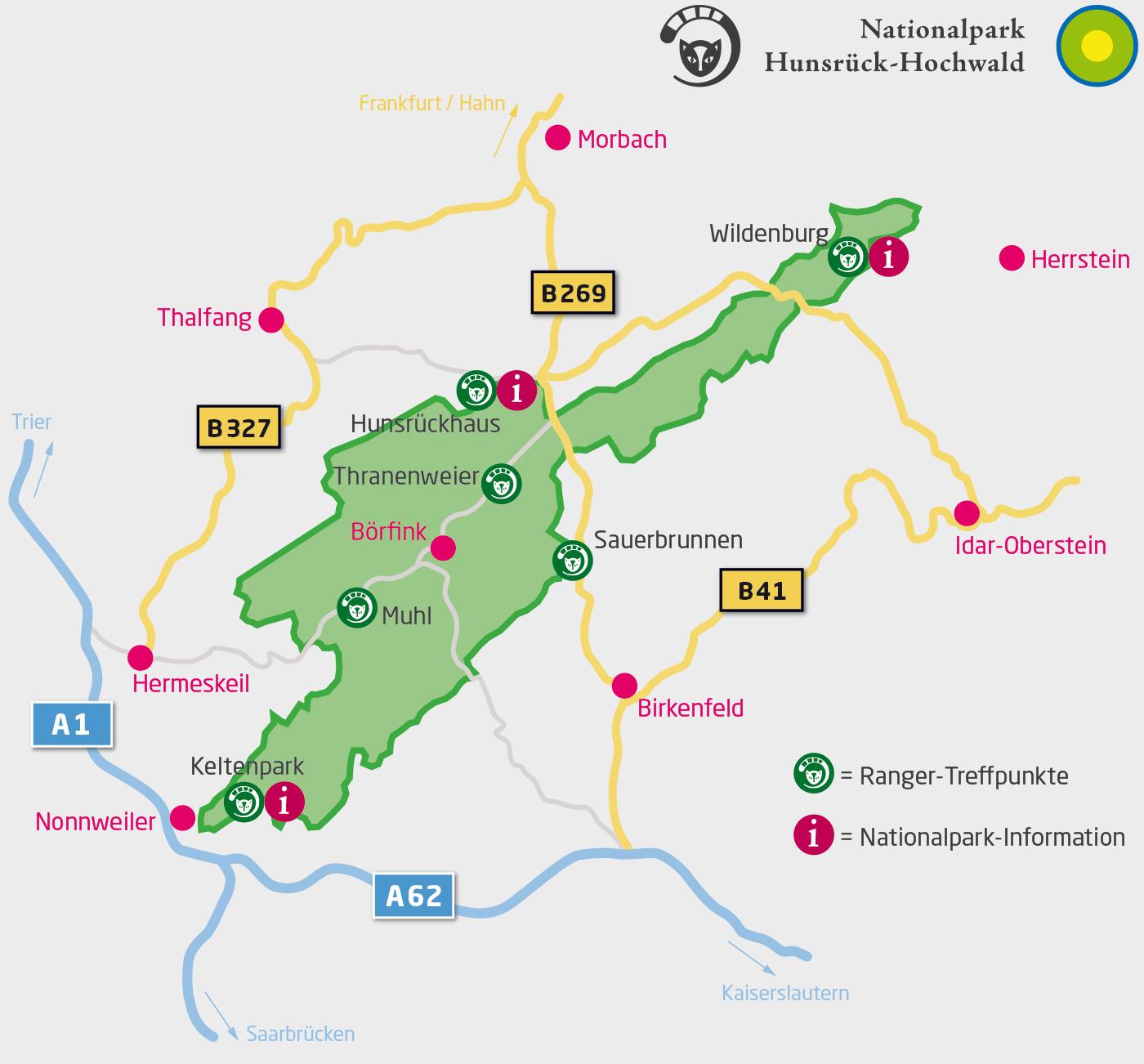 Hunsrück Hochwald Karte.Outdoor Nationalpark Hunsrück Hochwald Nationalpark Hunsrück